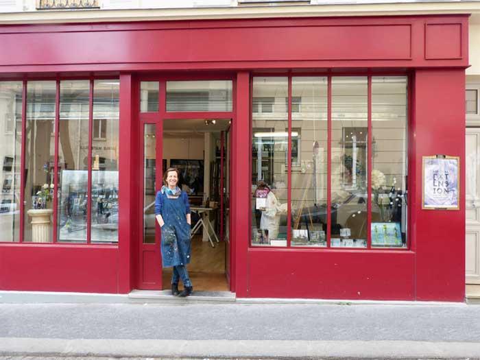 Peinture sur verre, sculptures trompe l oeil, Anne Boille, Artiste  plasticienne.