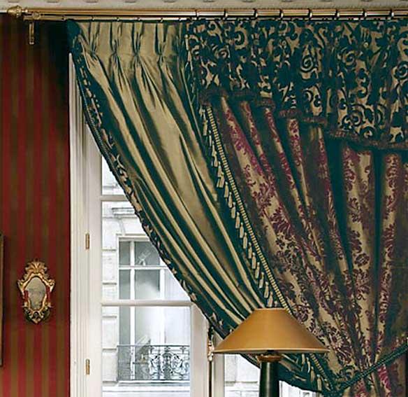 Confection de rideaux creaplus vous propose la creation - Poser des anneaux de rideaux ...
